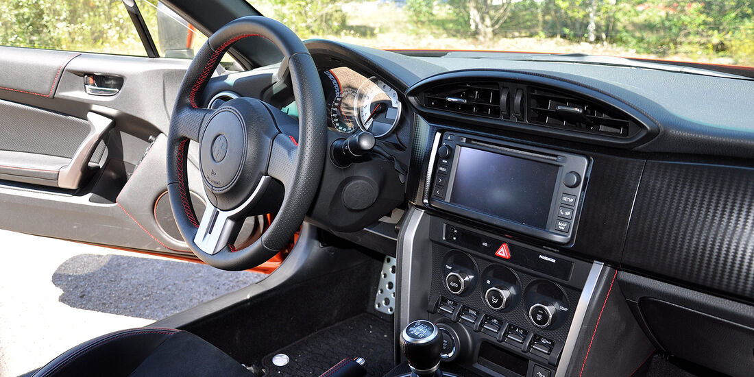 Toyota GT 86, Innenraum, Cockpit