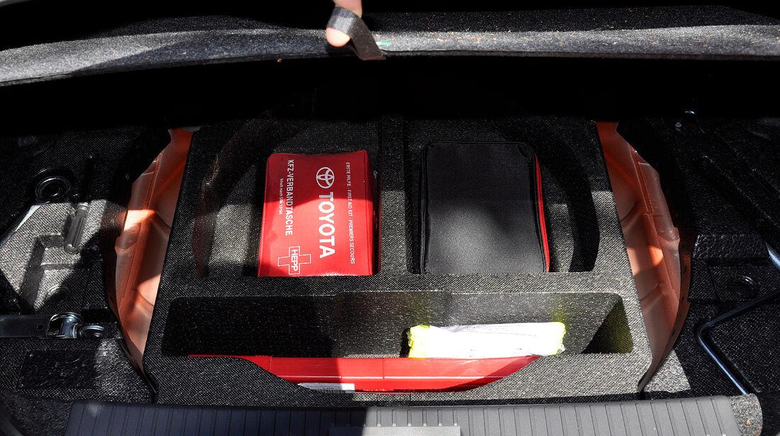 Toyota GT 86, Kofferraum