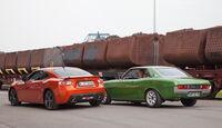 Toyota GT 86, Toyota Celica, Heckansicht