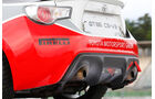 Toyota GT86 CS-V3, Auspuff, Endrohre