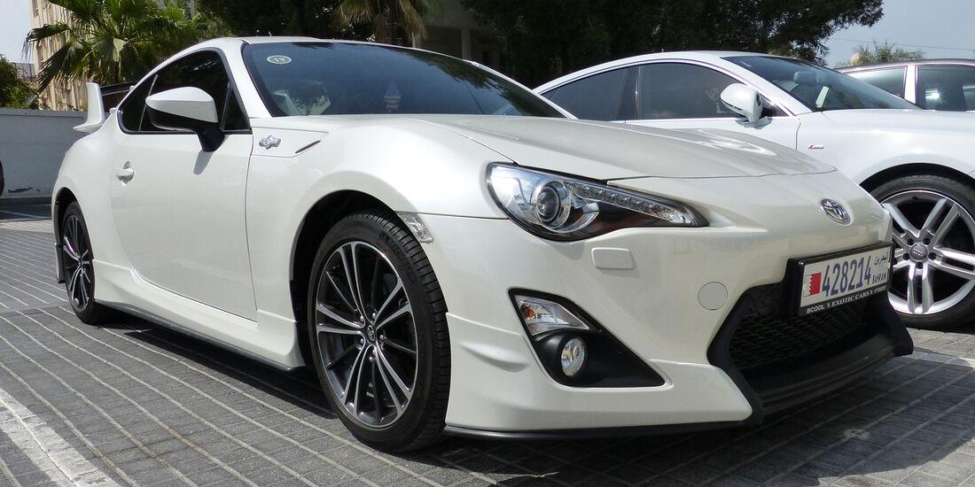 Toyota GT86 - Carspotting Bahrain 2014