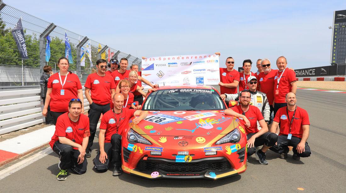 Toyota GT86 - Startnummer #128 - 24h-Rennen Nürburgring - Nordschleife - Samstag - 12.5.2018