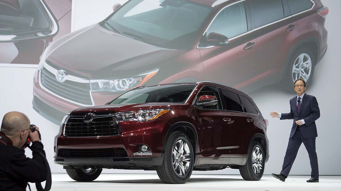 Toyota Highlander 2014 Weltpremiere New York