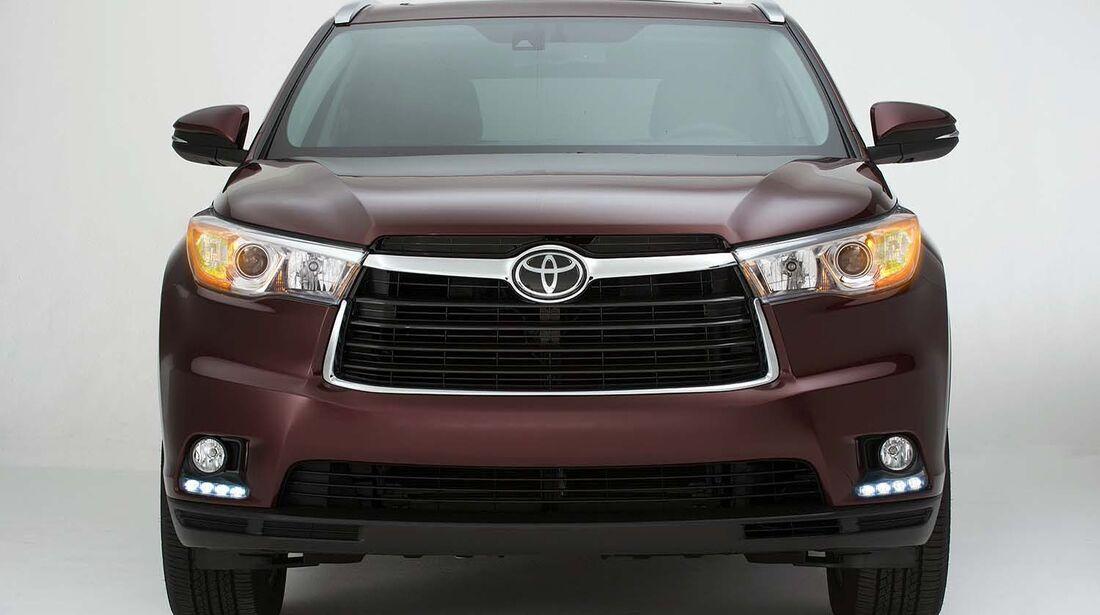 Toyota Highlander 2014 Weltpremiere New York