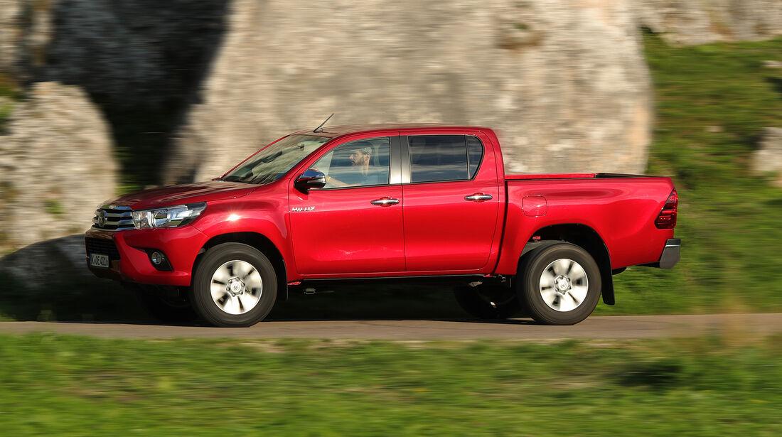 Toyota Hilux, Exterieur