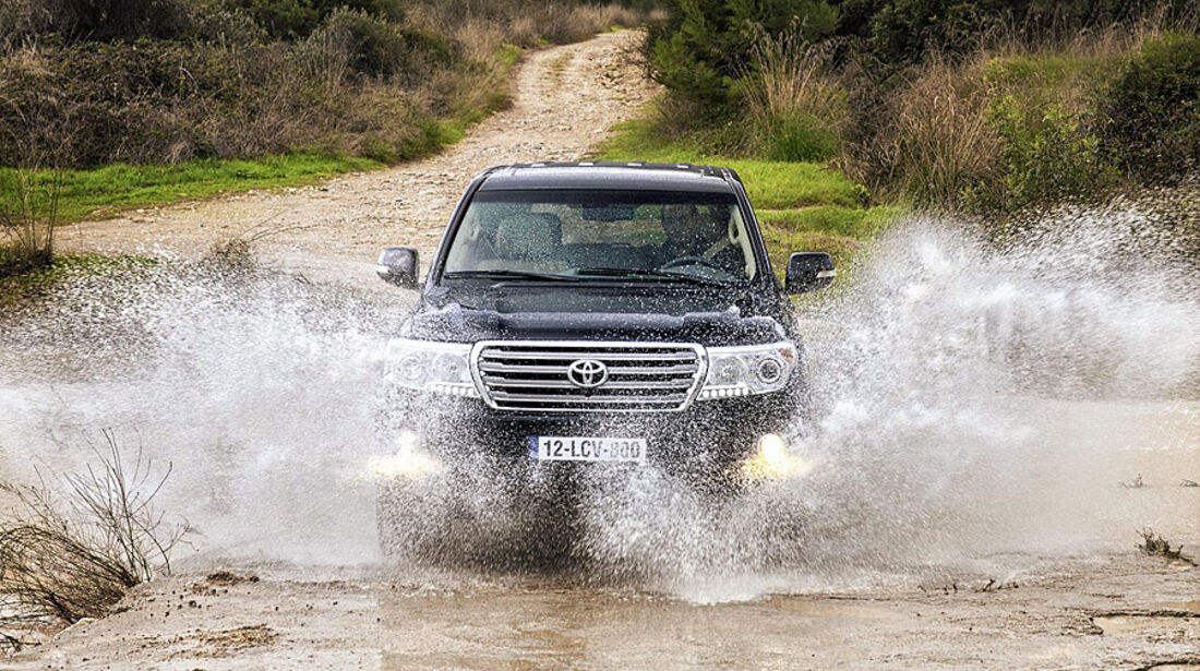 Toyota Land Cruiser 200 V8 2012