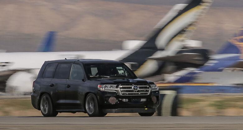 Toyota Land Speed Cruiser Weltrekord