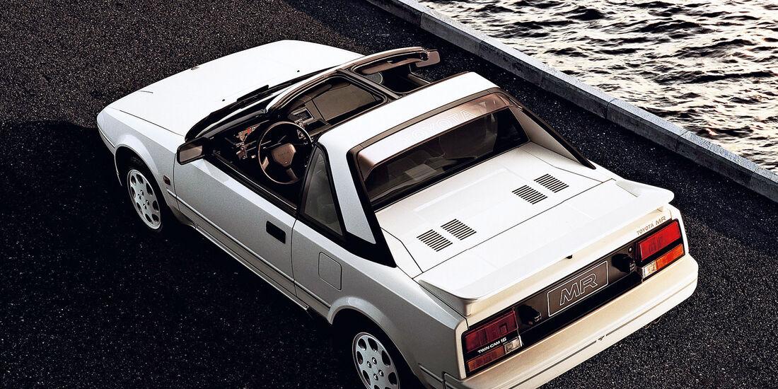 Toyota MR2 Roadster, 1984, W10