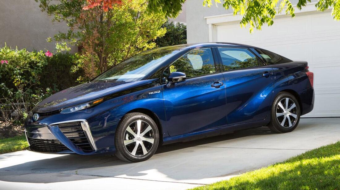 Toyota Mirai, ams, Fahrbericht