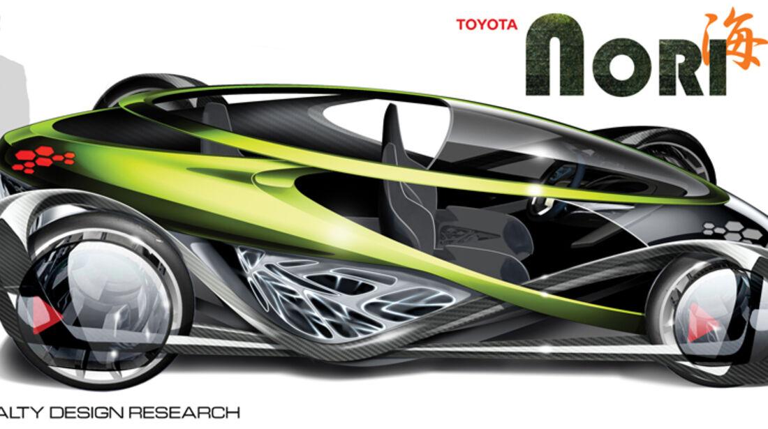 Toyota NORI, L.A. Design Challenge, Studie
