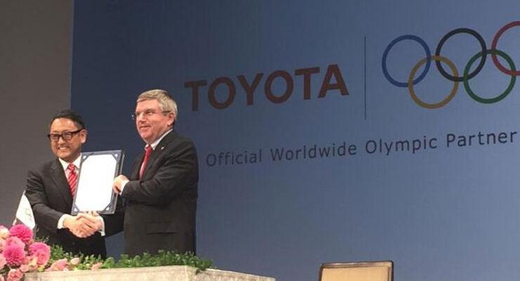 Toyota Olympische Spiele