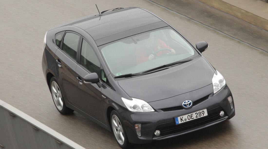 Toyota Prius, Draufsicht
