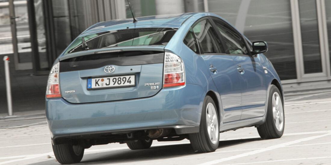 Toyota Prius, Heck