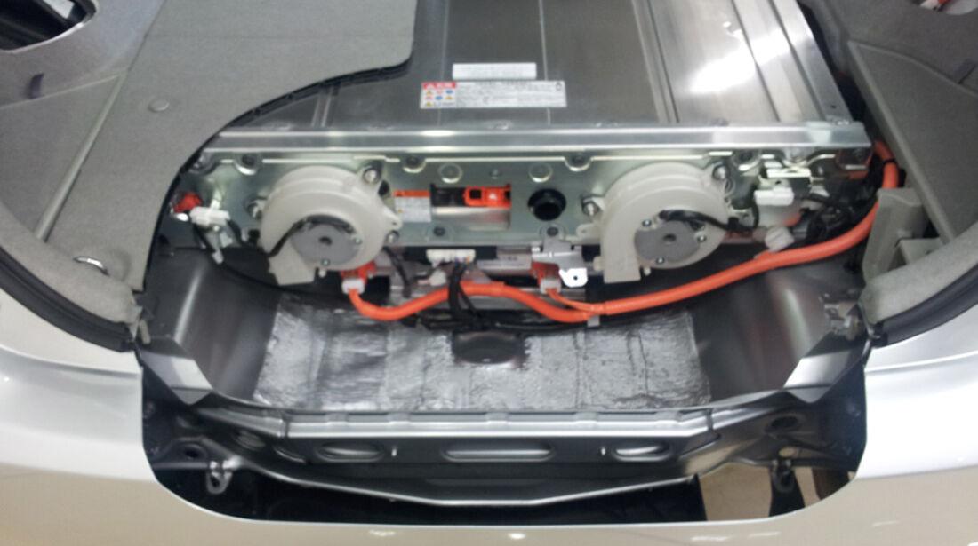 Toyota Prius Plug-in, Batterie, Detail