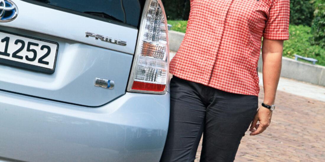 Toyota Prius Plug-in Hybrid, Testerin