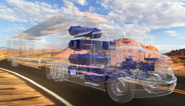 Toyota Project Portal Brennstoffzellen Truck Lkw