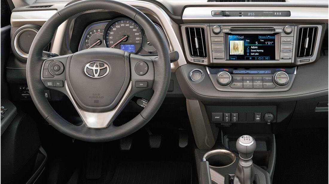 Toyota RAV4 2.0i Valvematic 2013 Test