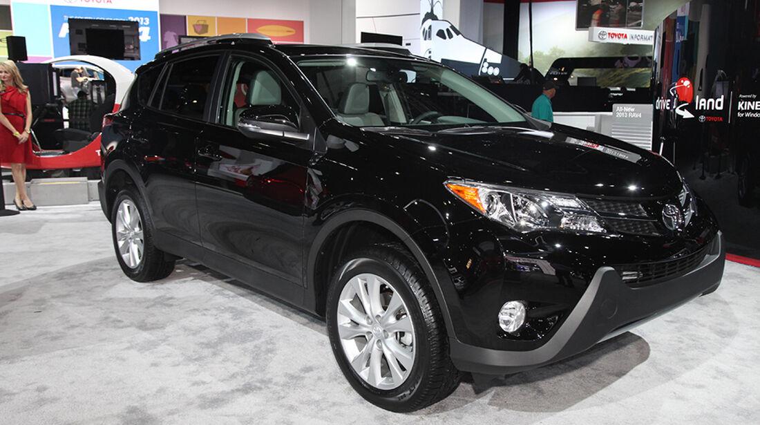 Toyota RAV4, Sitzprobe L.A. Auto Show 2012