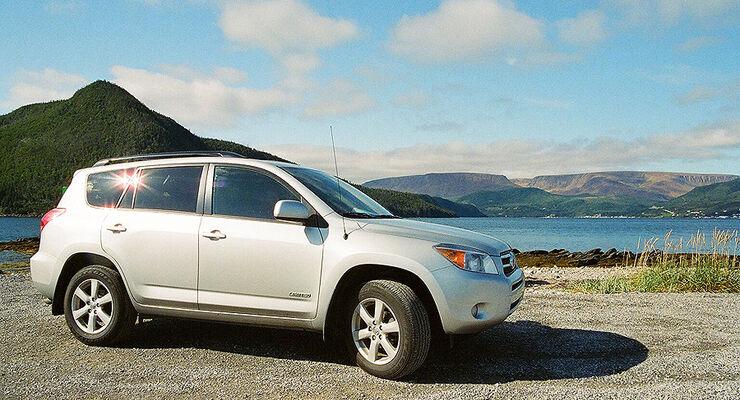 Toyota RAV4 in Neufundland