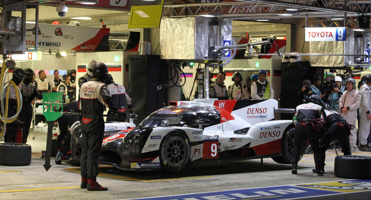 Toyota TS050 Hybrid - Startnummer #9 - 24h-Rennen Le Mans 2017