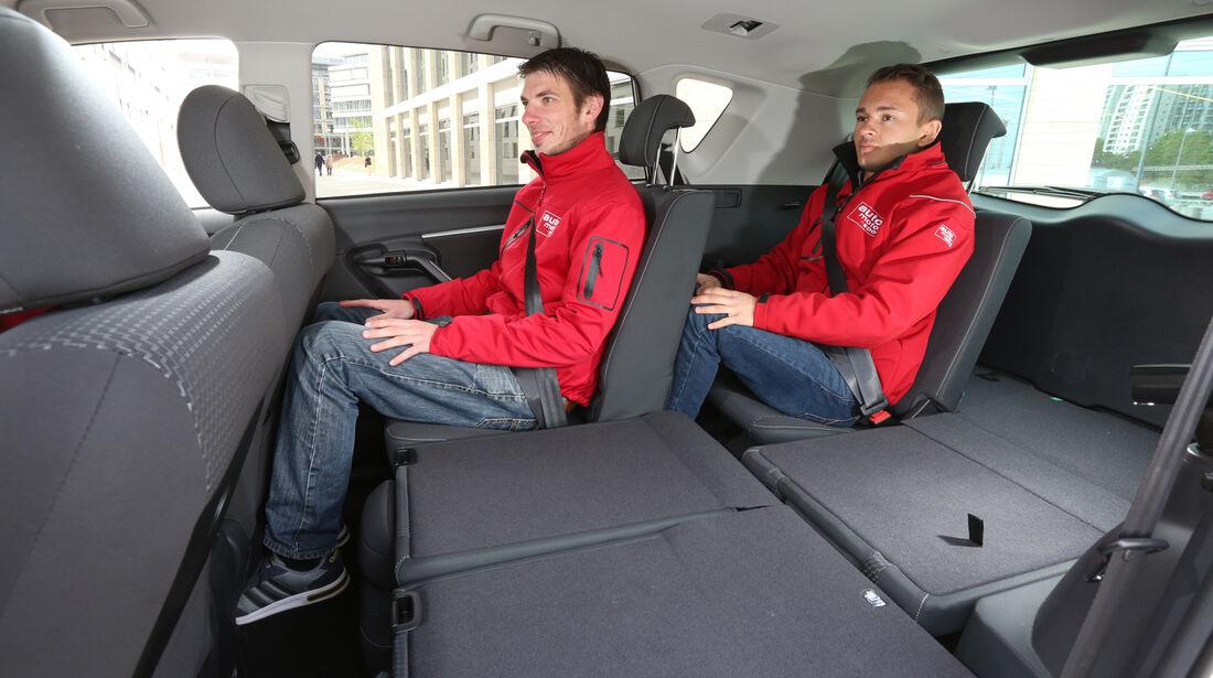 Toyota Verso 1.6 D-4D Life, Fondsitze, Beinfreiheit