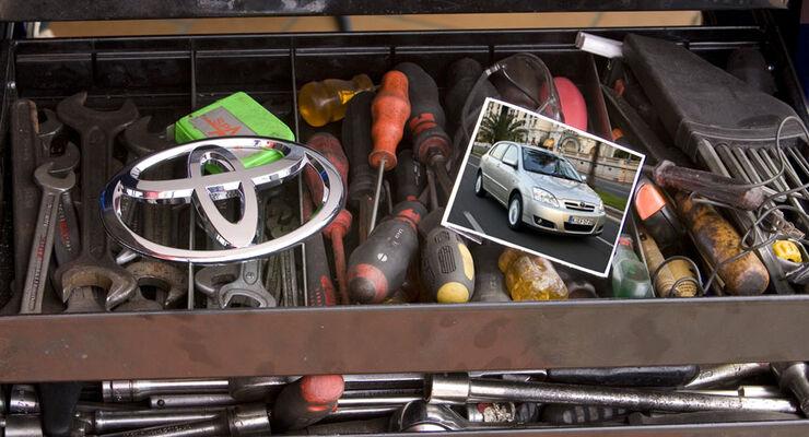 Toyota Werkstättentest 2010