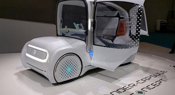 Toyota Wonder-Capsule Concept