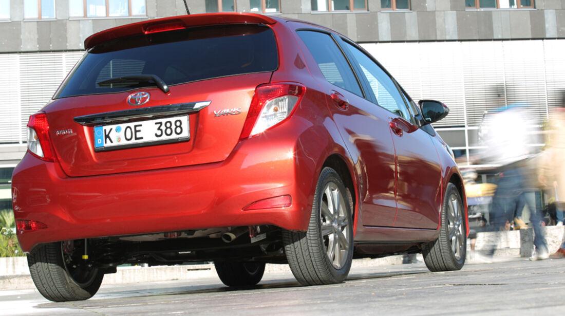 Toyota Yaris 1.4D-4D, Heck