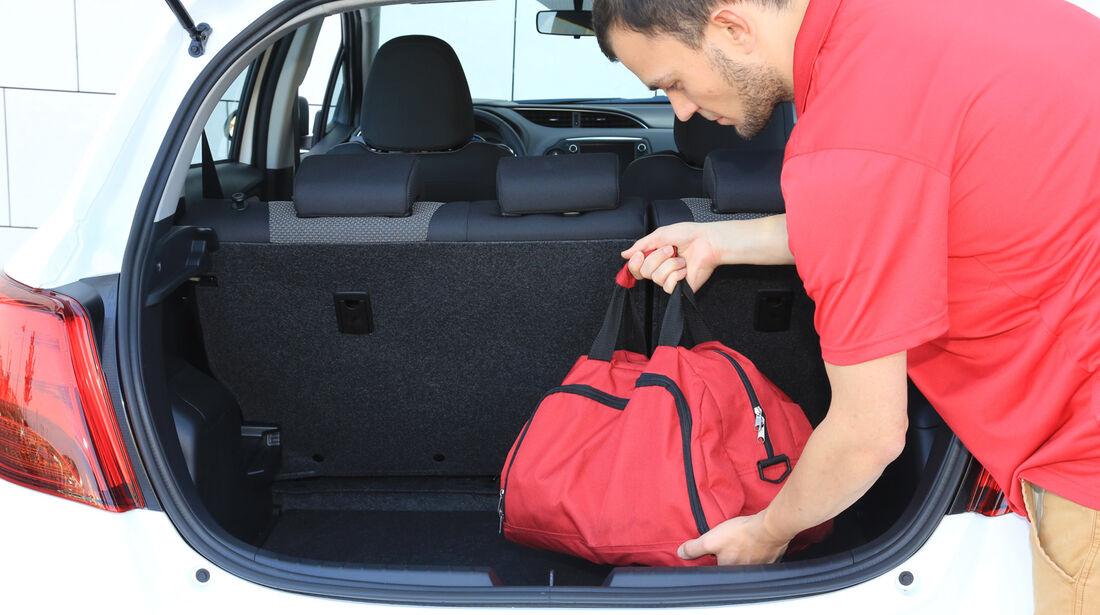 Toyota Yaris 1.5 Hybrid Comfort, Kofferraum