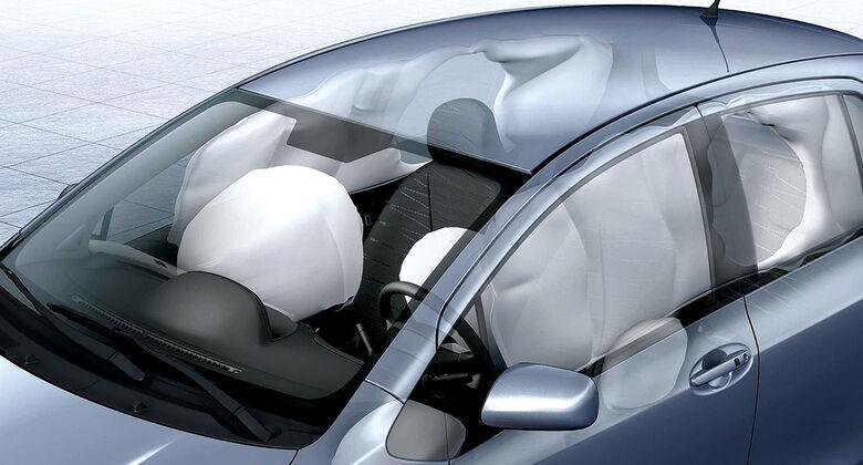 Toyota Yaris, Airbags