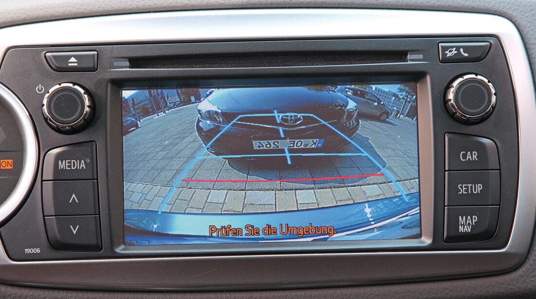 Toyota Yaris, Kamera