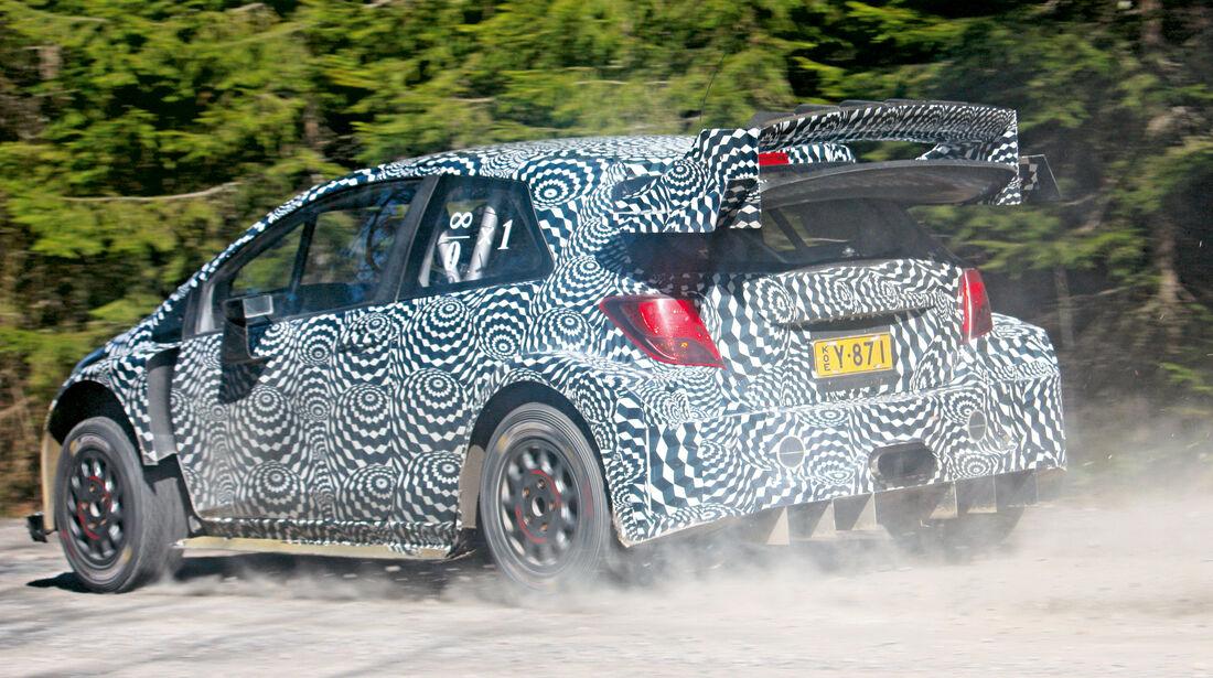 Toyota Yaris WRC 2017 - Test