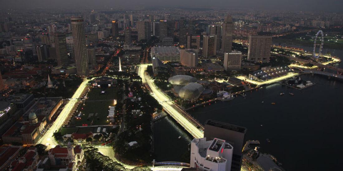 Training - GP Singapur - 23. September 2011