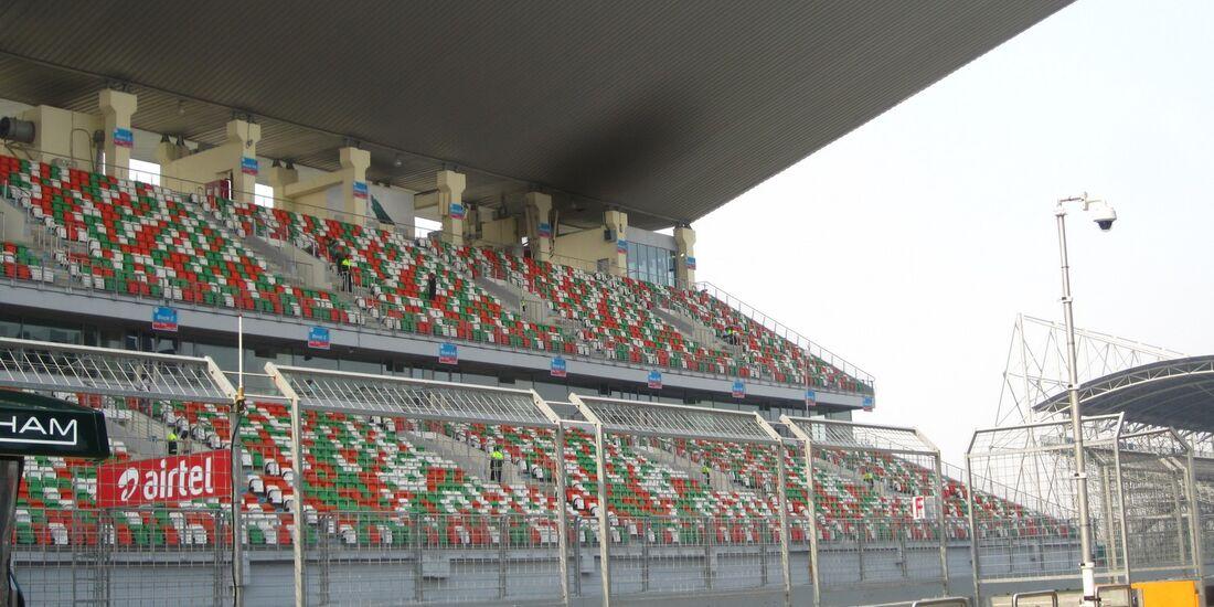 Tribünen  - Formel 1 - GP Indien - 25. Oktober 2012