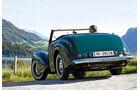Triumph Roadster 2000, Heckansicht