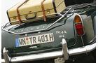 Triumph TR 4A, Heck