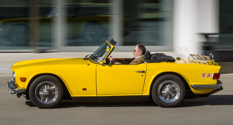 Triumph TR 6, Seitenansicht