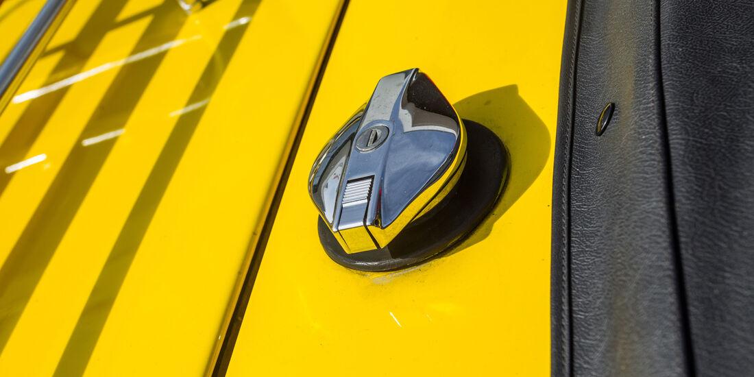 Triumph TR6, Verschluss
