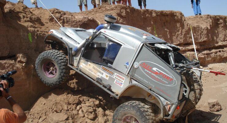 Trophy statt Rallye: Die Outback Challenge in Marokko