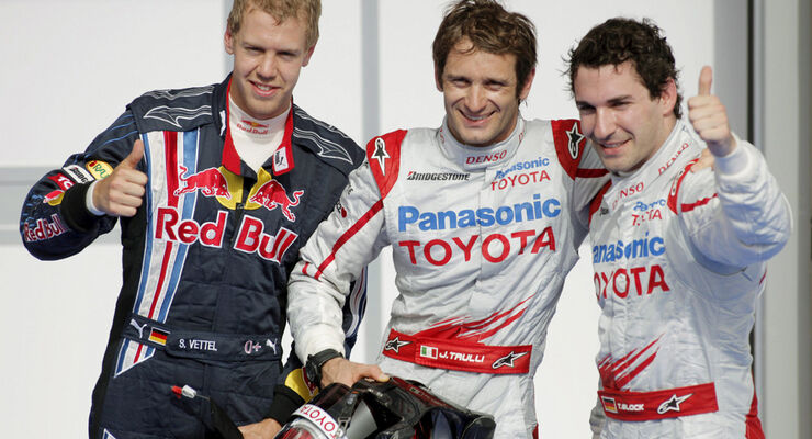 Trulli, Glock & Vettel