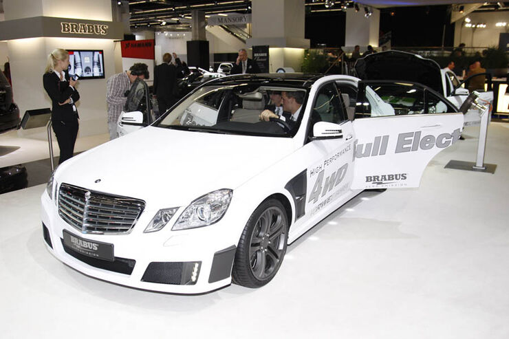 Tuner Brabus MercedesE-Klasse Full Electric IAA