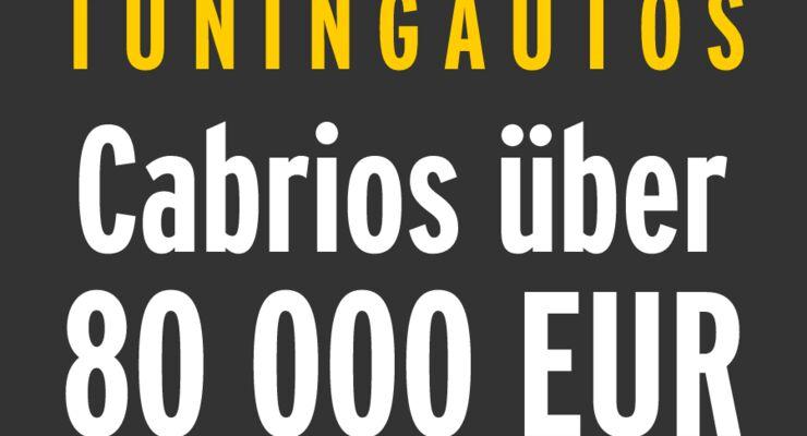 Tuningautos - Cabrios über 80 000 EUR