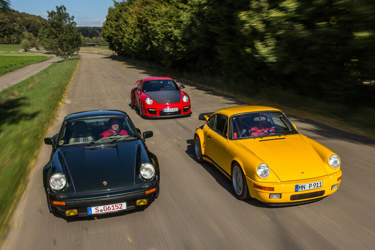 Turbo-Elfer, Ruf-Porsche