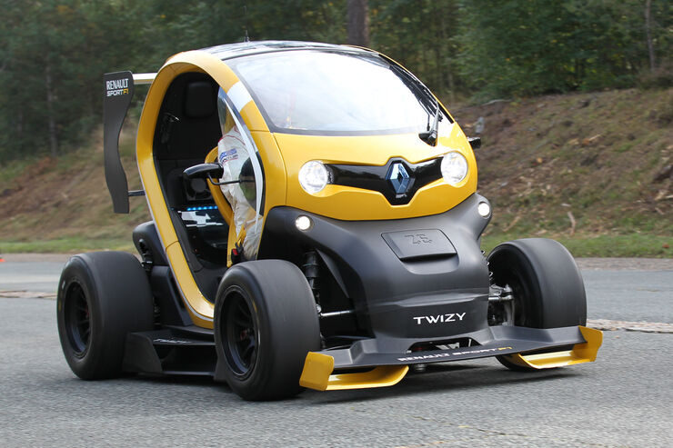 renault twizy sport f1 concept car im fahrbericht elektroauto auf speed auto motor und sport. Black Bedroom Furniture Sets. Home Design Ideas