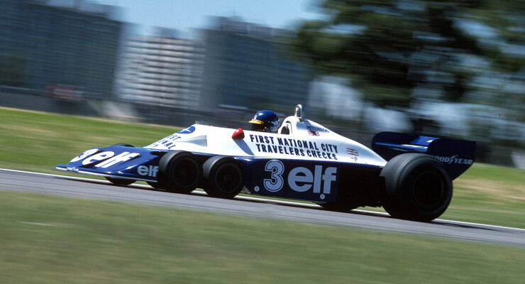 Tyrrell P34 - Verrückte Formel 1-Ideen