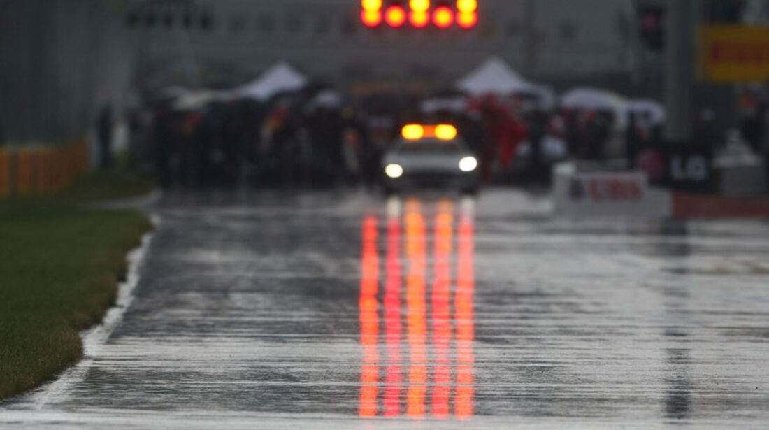 Unterbrechung GP Kanada 2011