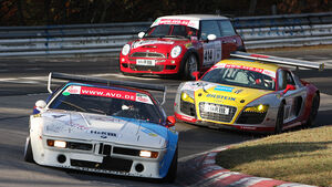 VLN 10. Lauf Langstreckenmeisterschaft Nürburgring 31.10.2009