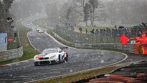 VLN 2 - Nürburgring - Schnee - 13. April 2019