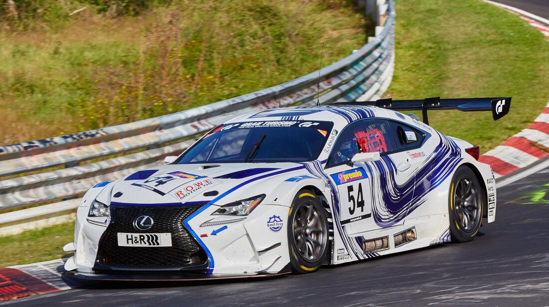 VLN 2015 - Nürburgring - Lexus RC F GT3 - Startnummer #54 - SPX