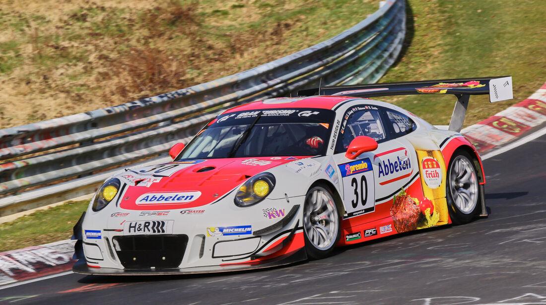 VLN 2016 - Nürburgring Nordschleife - Startnummer #30 - Porsche 911 GT3 R - SP9